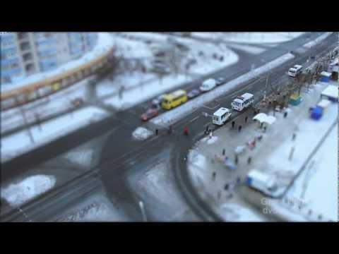 Winter Timelapse From Chernihiv, Ukraine/ Зимний таймлапс с Чернигова