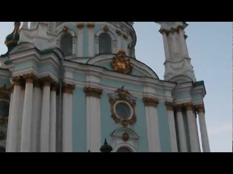 Saint Andrew cathedral in Kiev