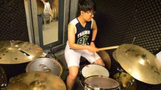 Dom : Living in America- drum cover