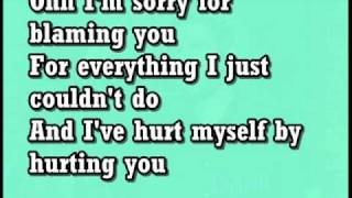 Christina Aguilera Hurt (lyrics)