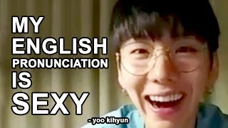 MONSTA X KIHYUN SPEAKING ENGLISH & RAPPING (ft. MINHYUK) [CHICAGO EDITION]