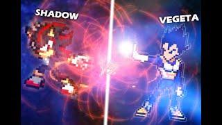 Shadow VS Vegeta - [Sprite Animation] [UNFINISHED] [OLD 2015]