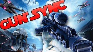 INCREDIBLE STAR WARS GUN SYNC!