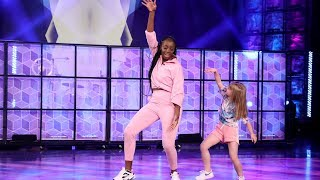 Viral Kid Dancer and Her Teacher Show Off Their Moves
