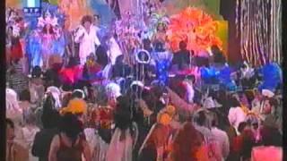 Fafá de Belém no Carnaval cantando o Vermelho, Casino de Espinho Portugal