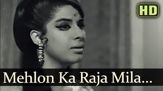 Mehlon Ka Raja - Zaheeda Hussain - Tarun Bose - Anokhi Raat - Bollywood Songs - Lata Mangeshkar