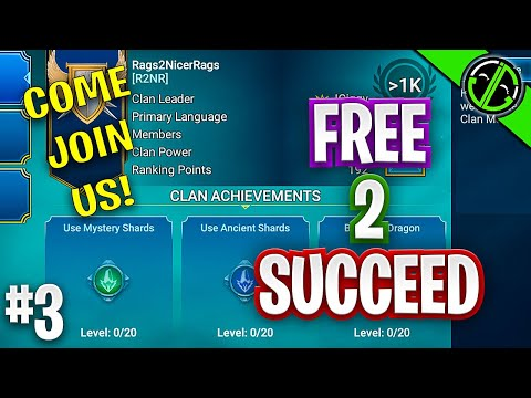 The Clan Is Made! Join Us! Free 2 Succeed - EPISODE THREE