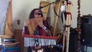 PENSE EM MIM (PIENSA EN MI) - Instrumental Panflute - Flauta de Pan ao Vivo - Brasil