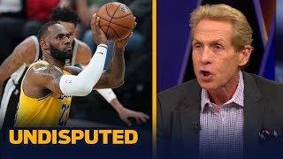 Skip Bayless on why LeBron's late game free throw woes are concerning   NBA   UNDISPUTED