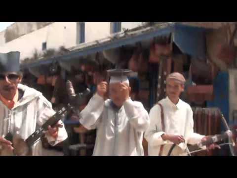 tamazight berber musician at the market.mp4