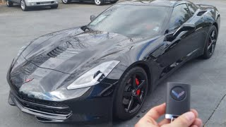 2014 Chevrolet Corvette Stingray: Startup, Exhaust, Test Drive and Review