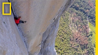 See First Video of Most Dangerous Rope-Free Climb Ever (Alex Honnold)   National Geographic