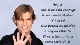 Carlos Baute - Perdimos El Control (Con Letra)