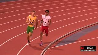 Baylor vs Texas Tech 4x400m   2017 Big 12 Track & Field Championship