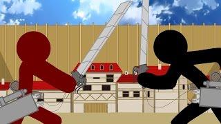 Shingeki no Kyojin Stick Fight