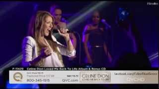 Celine Dion - It's All Coming Back To Me Now (QVC 1/11/2013)