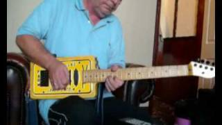 ken mclean plays Roy Buchanan's The messiah will come again on Ol' Yeller!