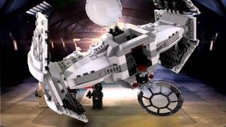 TIE Advanced Prototype - LEGO Star Wars - 75082 - Product Animation