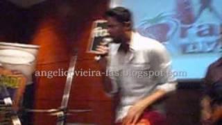 Angélico Vieira Morangos Live acústico Fnac Colombo