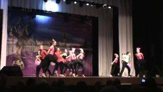 TRIUMFS - bernu un jauniesu sporta deju grupa festivālā Debut 2013