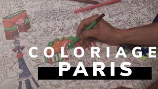 ASMR | JE COLORIE PARIS (feutres, histoires et secrets)