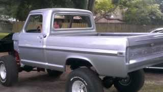 1971 Ford f100 4x4 restoration almost finished.