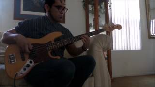 Childish Gambino- California (Bass Cover)