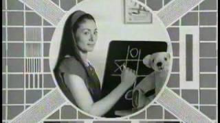 1992 Granada rental tv advert using BBC test cards