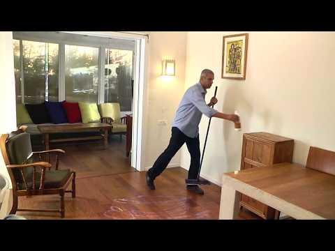 סרטון: פוליש לפרקט עץ ופרקט למינציה