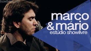 """""""Amor não vai faltar"""" - Marco & Mário no Estúdio Showlivre 2014"""