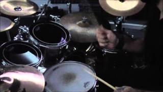 Mind terrorist drum recording session