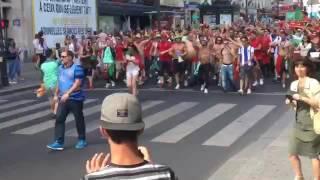 Cânticos Apoio Portugal - Armada Tuga - Campeão Euro 2016 - Place De Clichy Paris France/França