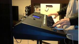 Lily Was Here - David A. Stewart feat. Candy Dulfer (yamaha psr s750)