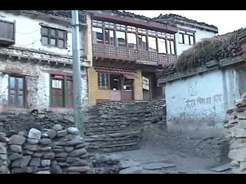 Kagbeni Village in Nepal