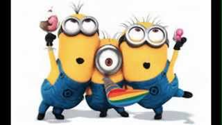Despicable Me 2 Minions Songs - YMCA ( gru and lucy wedding song ) with lyrics video HD