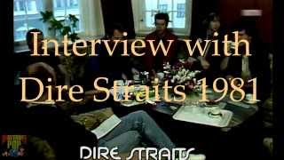 Dire Straits rare interview 1981 - retro-pop