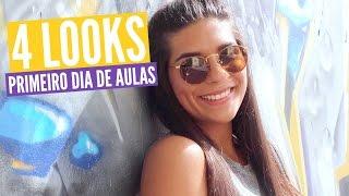 4 looks para o 1º dia de aulas ❤️#regressoàsaulas