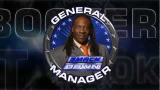 BOOKER T New SMACKDOWN General Manager (NEW 2012-Version 2) Titantron Entrance Video HQ HD 720P