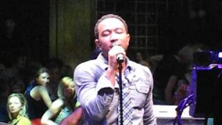 John Legend live Save Room @ Hilfiger Sessions London 2008