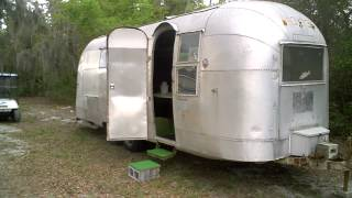 "AIRSTREAM""FOR SALE"" CUSTOM CARAVAN/TOY HAULER-1962 OVERLANDER 26-ft-florida"