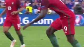 Golo de Eder - Final Euro 2016 Portugal 1 - 0 France