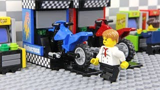 Lego Arcade Game - Motocross Race