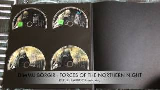 DIMMU BORGIR - FORCES OF THE NORTHERN NIGHT // Deluxe Earbook unboxing