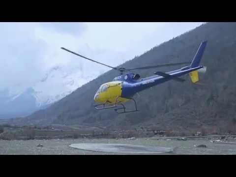 Cultural and Heritage Helicopter Tour [ Medical Rescue ] Aerial work and Aerial sightseeing in Nepal