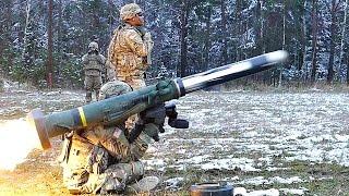 FGM-148 Javelin Live Fire & Slow-mo