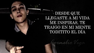 (LETRA) ¨POR ESTAR CONTIGO¨ - Cornelio Vega Jr (Lyric Video)