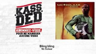 Mc Solaar - Bling bling