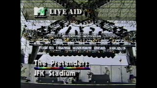 The Pretenders - Back On The Chain Gang (MTV - Live Aid 7/13/1985)