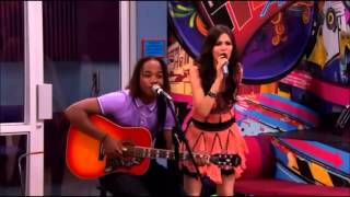 Victoria Justice & Leon Thomas III - Faster Than Boyz - Official Music Video - Victorious