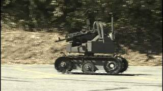 MAARS Battlefield Robot Test